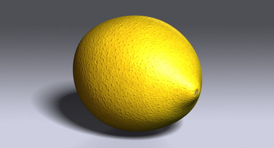 Limone royalty-free 3d model - Preview no. 10
