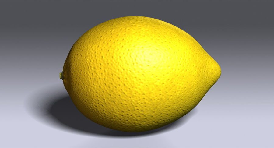 Limone royalty-free 3d model - Preview no. 11