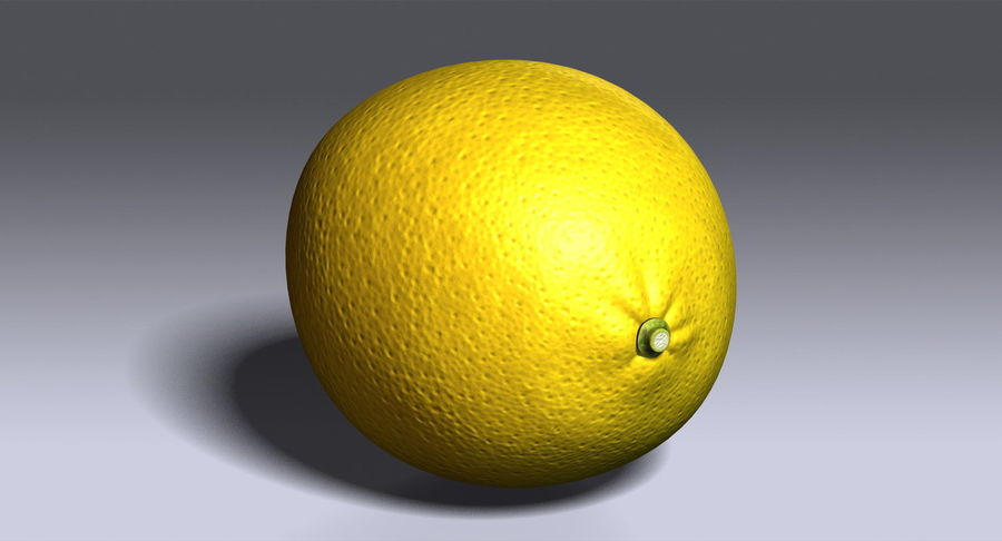 Limone royalty-free 3d model - Preview no. 6