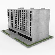 Office Build 26 3d model