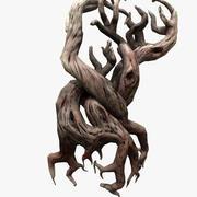 Сухое дерево 3d model