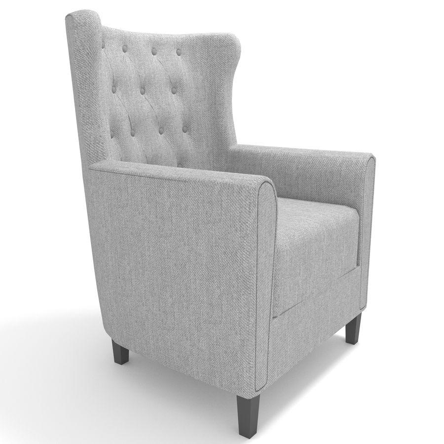 Poltrona royalty-free 3d model - Preview no. 1