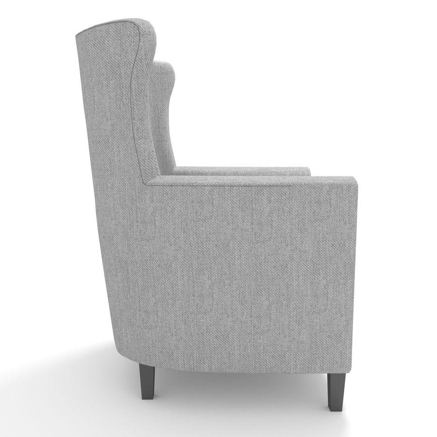 Poltrona royalty-free 3d model - Preview no. 4