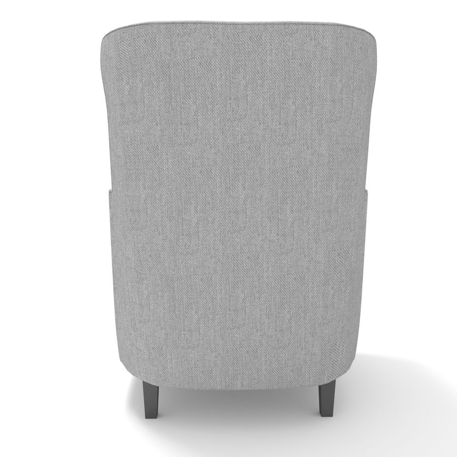 Poltrona royalty-free 3d model - Preview no. 5