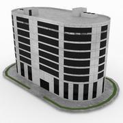 Office Build 19 3d model
