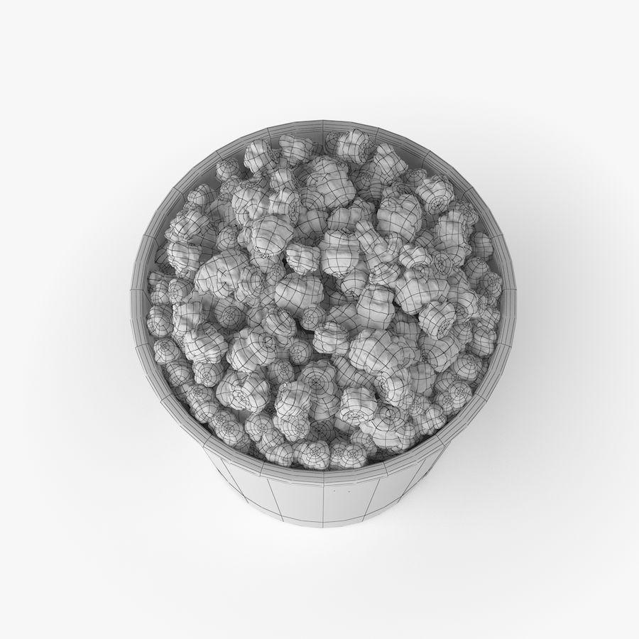 Popcorn Big royalty-free 3d model - Preview no. 6