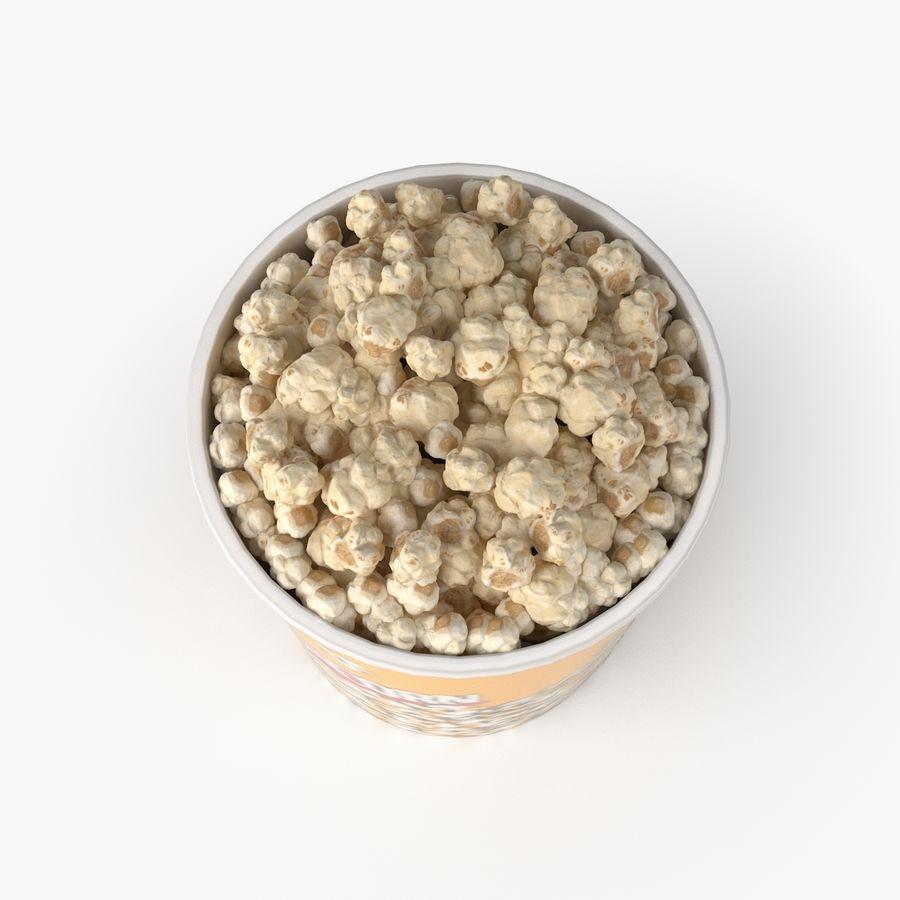 Popcorn Big royalty-free 3d model - Preview no. 3