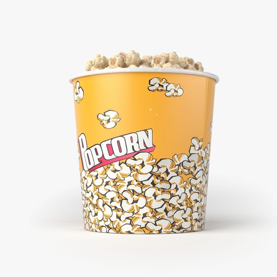 Popcorn Big royalty-free 3d model - Preview no. 2