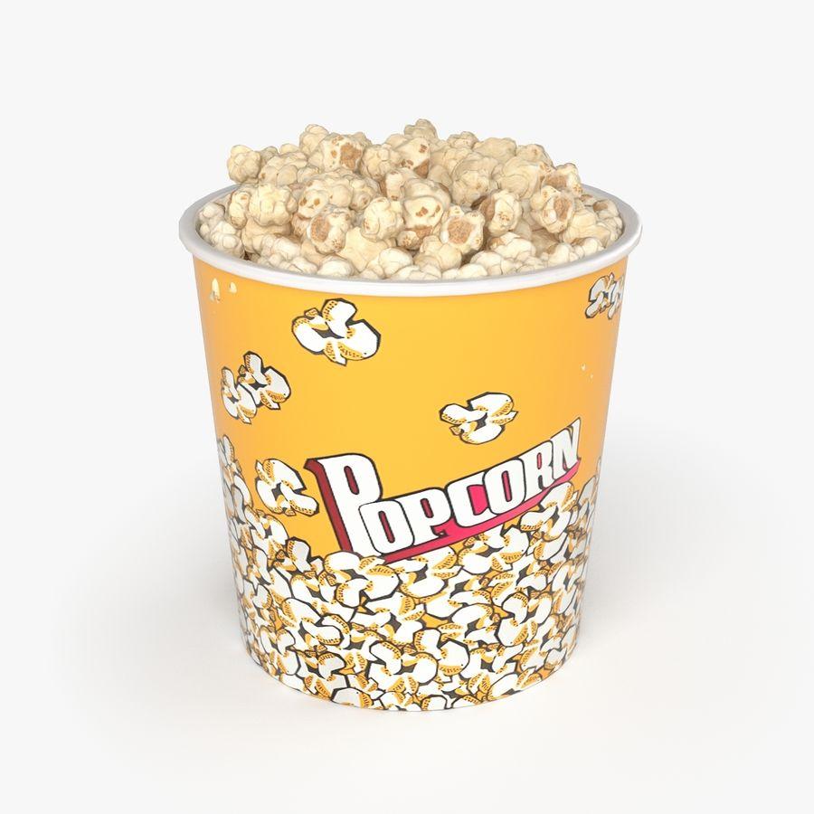 Popcorn Big royalty-free 3d model - Preview no. 4