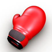 Boxing Glove Cartoon 3d model