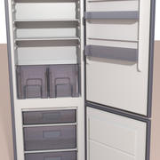 Refrigerador modelo 3d