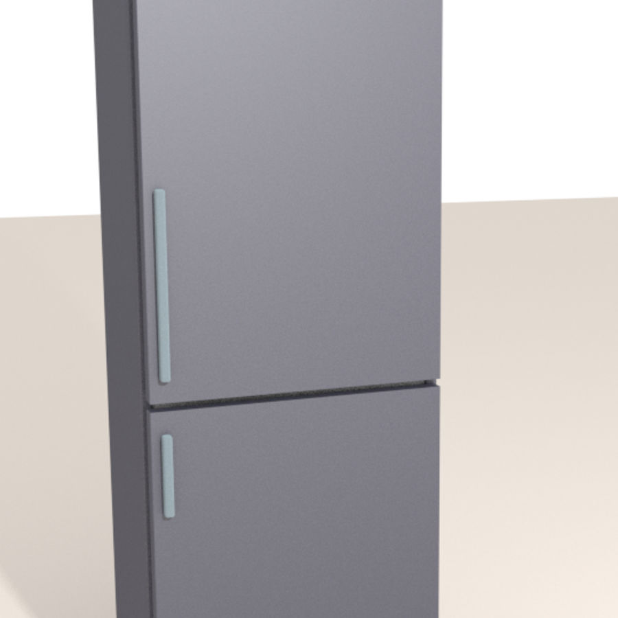 Refrigerator royalty-free 3d model - Preview no. 2