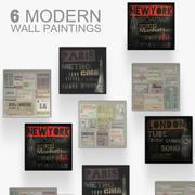 Wall Paintings 3d model