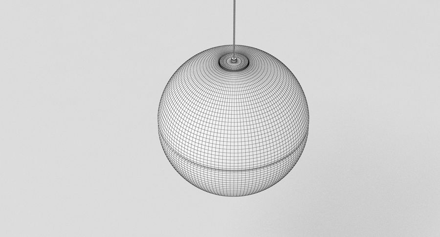 Bocci 14 Standart Lamp royalty-free 3d model - Preview no. 8