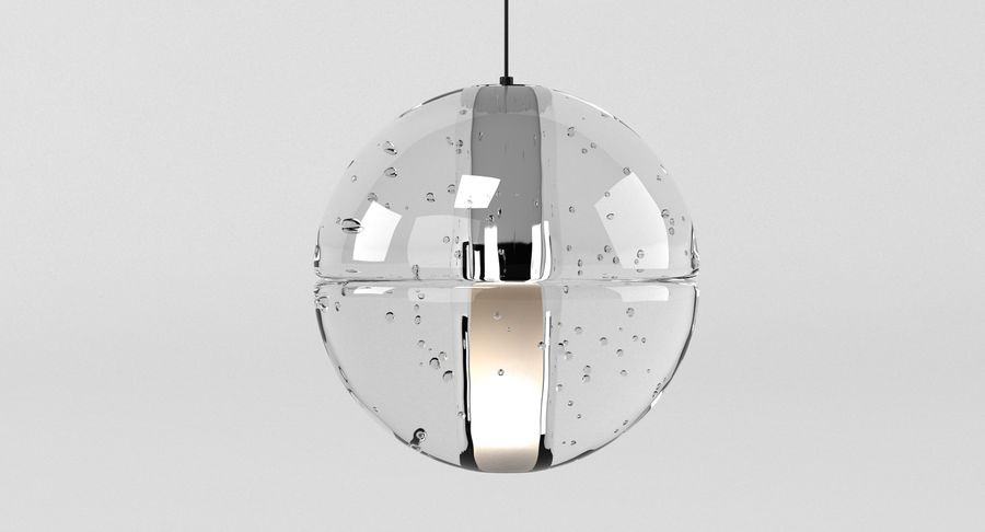 Bocci 14 Standart Lamp royalty-free 3d model - Preview no. 3