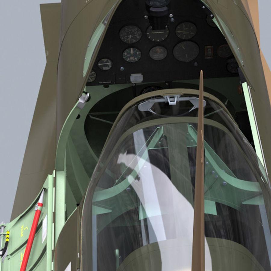 Spitfire Vb royalty-free 3d model - Preview no. 5