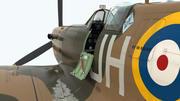 Spitfire Vb 3d model
