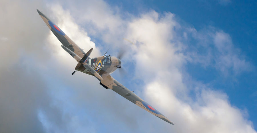Spitfire Vb royalty-free 3d model - Preview no. 11
