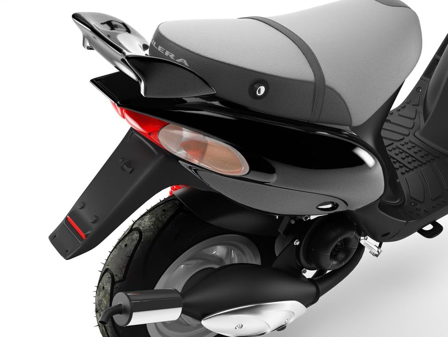 Scooter Gilera Stalker(1) royalty-free 3d model - Preview no. 9