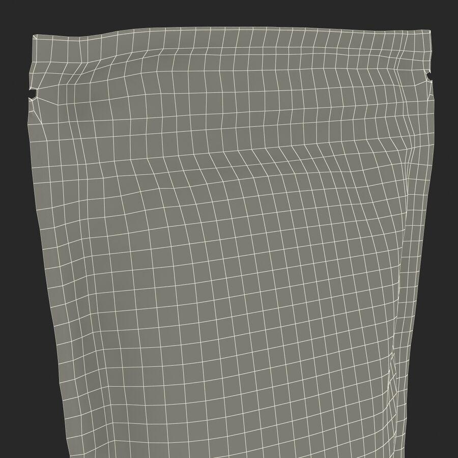 Food Vacuum Sealed Bag Black royalty-free 3d model - Preview no. 20