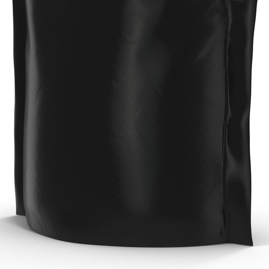 Food Vacuum Sealed Bag Black royalty-free 3d model - Preview no. 16