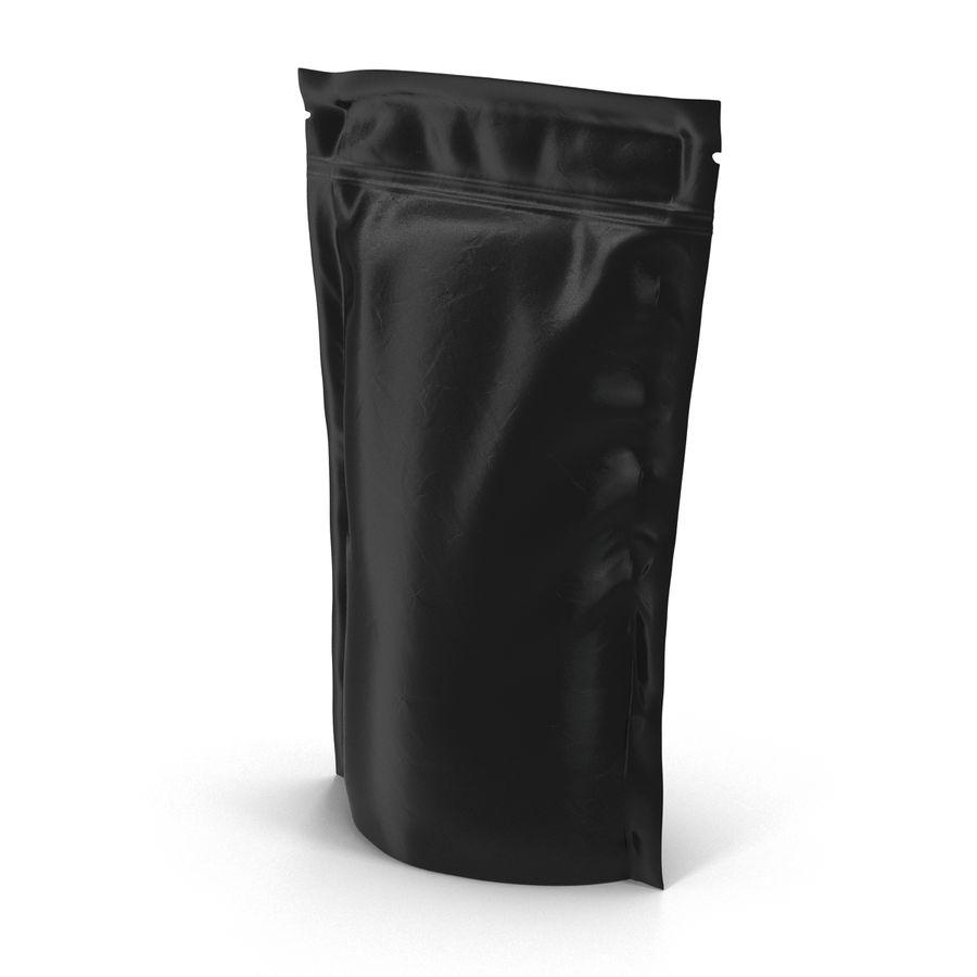 Food Vacuum Sealed Bag Black royalty-free 3d model - Preview no. 10