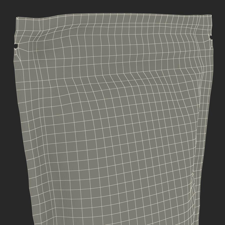 Food Vacuum Sealed Bag Black royalty-free 3d model - Preview no. 25