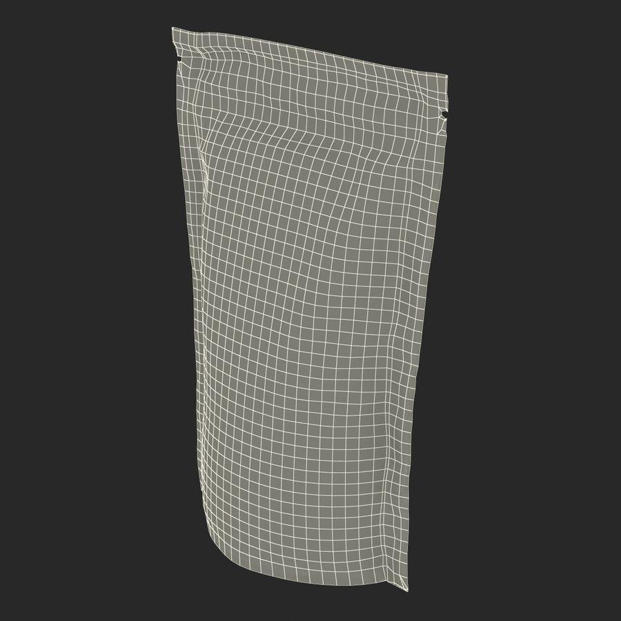 Food Vacuum Sealed Bag Black royalty-free 3d model - Preview no. 23