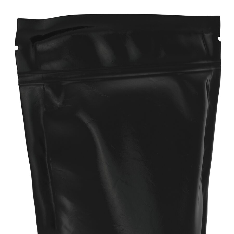 Food Vacuum Sealed Bag Black royalty-free 3d model - Preview no. 11