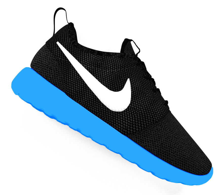 reputable site db6c0 1cafd Nike Roshe Shoe royalty-free 3d model - Preview no. 1