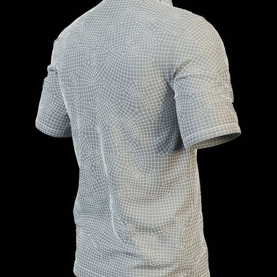42502ac3447b Polo shirt Lacoste 3D Model  29 - .oth .obj .fbx .max - Free3D