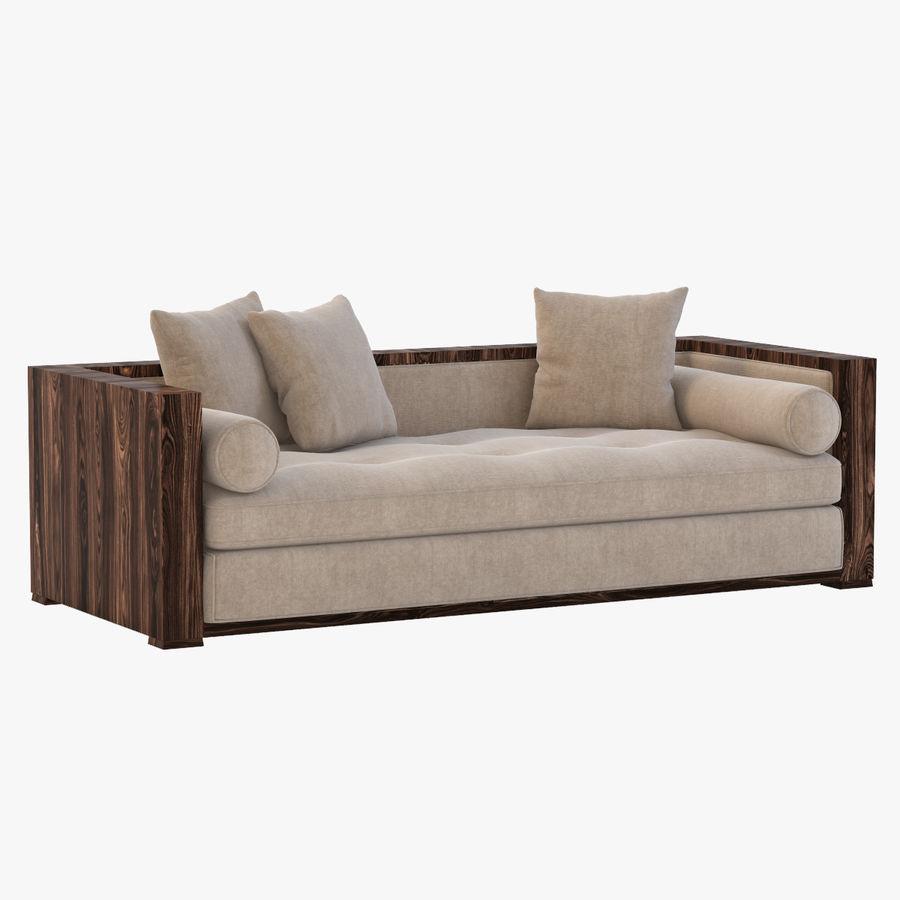 Divan Sofa royalty-free 3d model - Preview no. 1