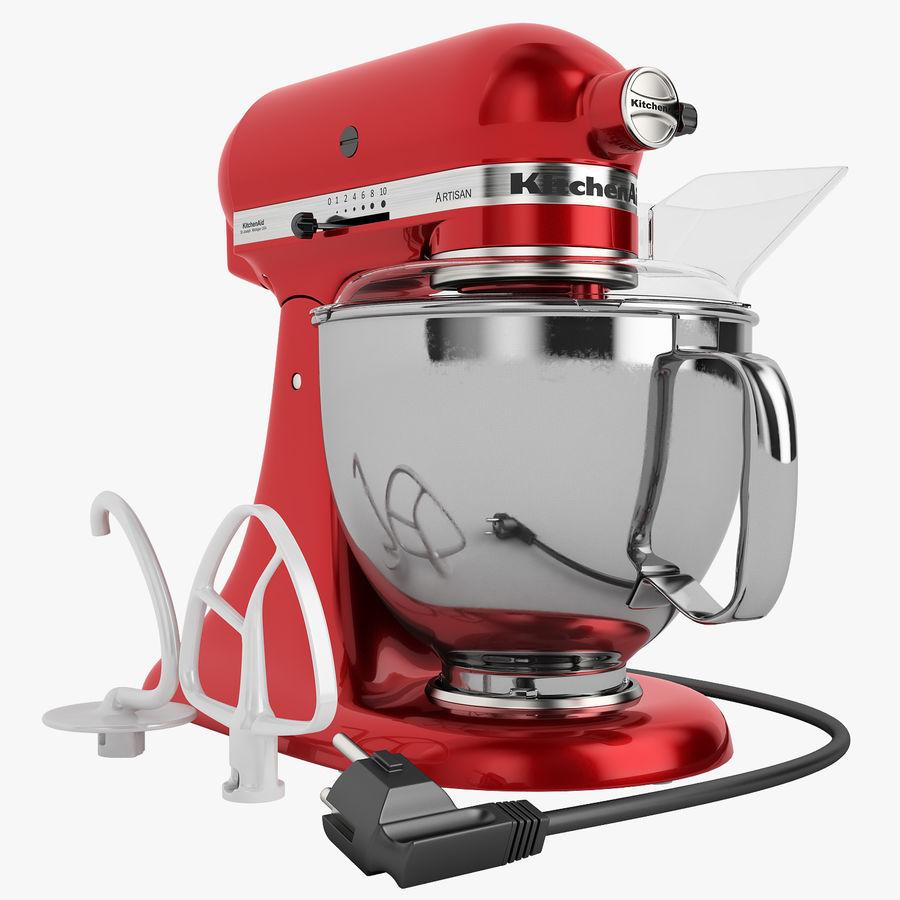 Kitchenaid Artisan Head Stand Mixer 01 3d Model 39 Wrl Unknown Obj Max Free3d