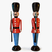 Toy Soldier of The Royal Guard 3d model
