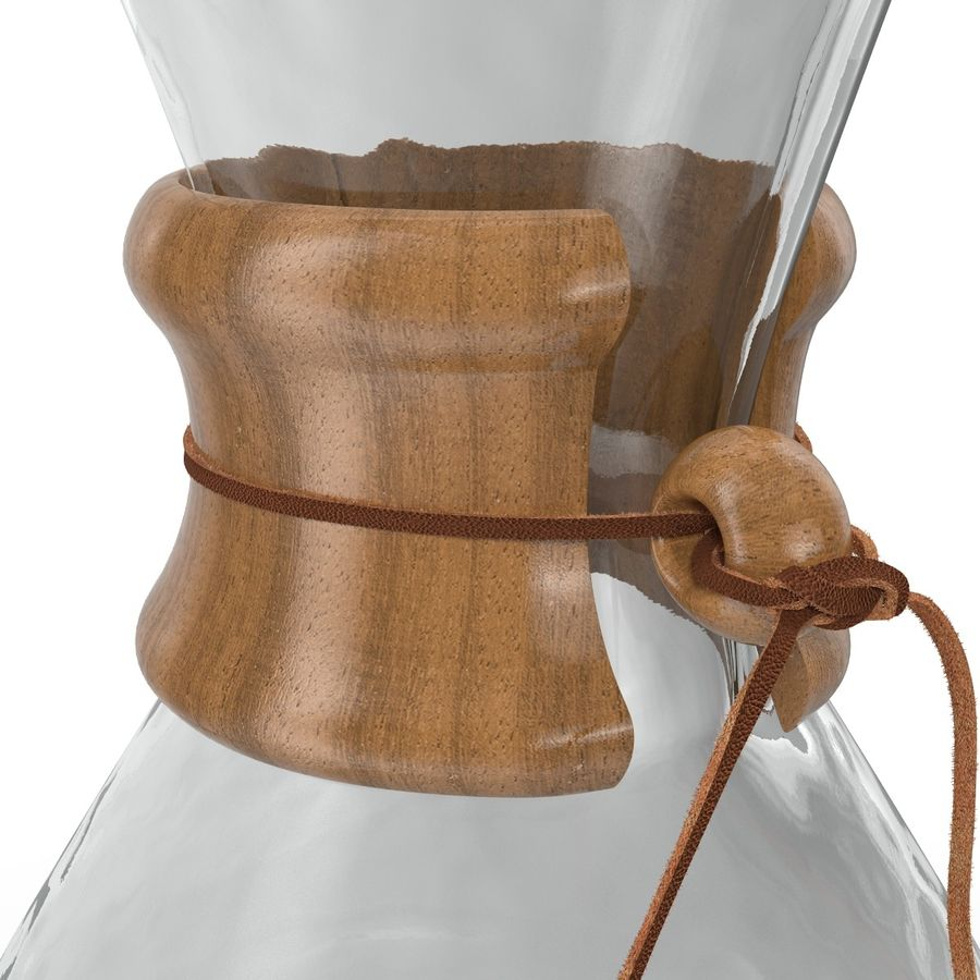 Glass Coffee Carafe royalty-free 3d model - Preview no. 14