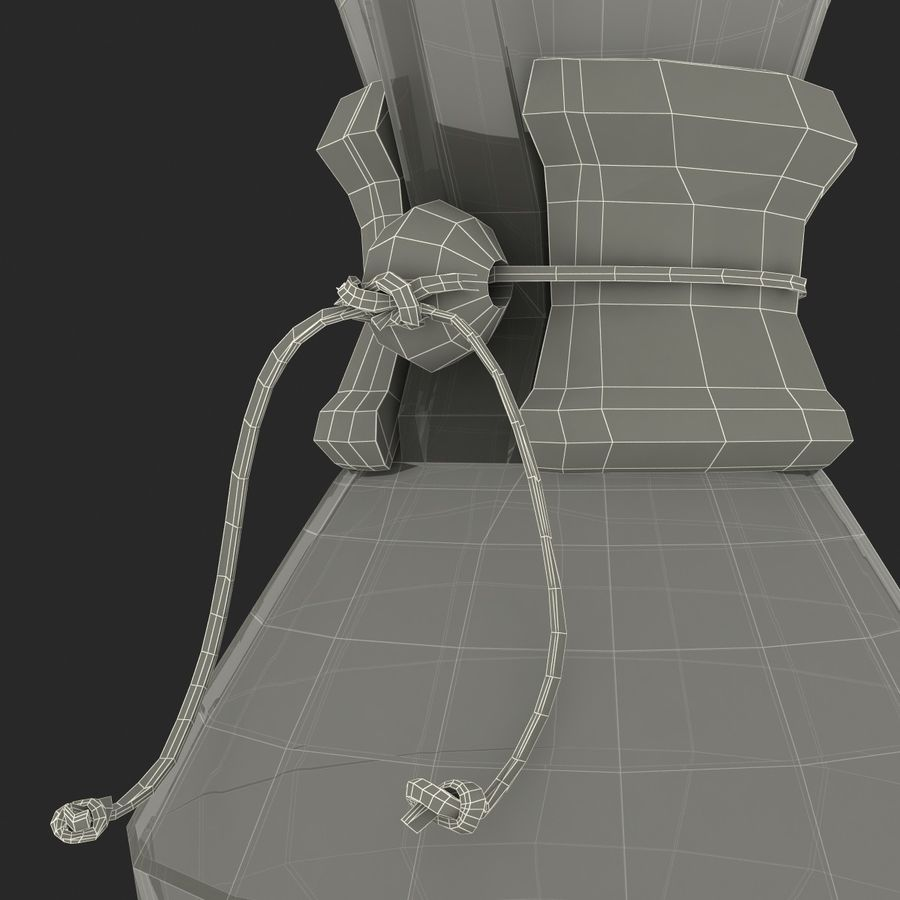 Glass Coffee Carafe royalty-free 3d model - Preview no. 29