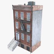 낮은 폴리 빌딩 3d model