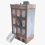 Low Poly Gebäude 3d model