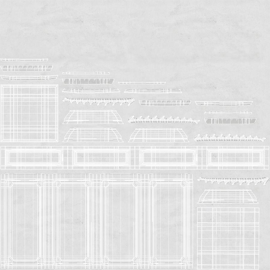 Column Base Greco Roman 2 royalty-free 3d model - Preview no. 11