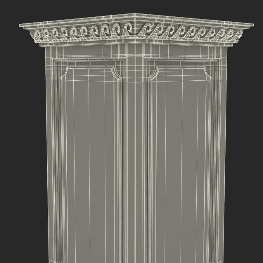 Column Base Greco Roman 2 royalty-free 3d model - Preview no. 18