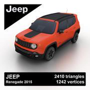 Jeep Renegade 2015 3d model