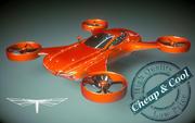 \\ T // Hover Car 02 Heli 3d model