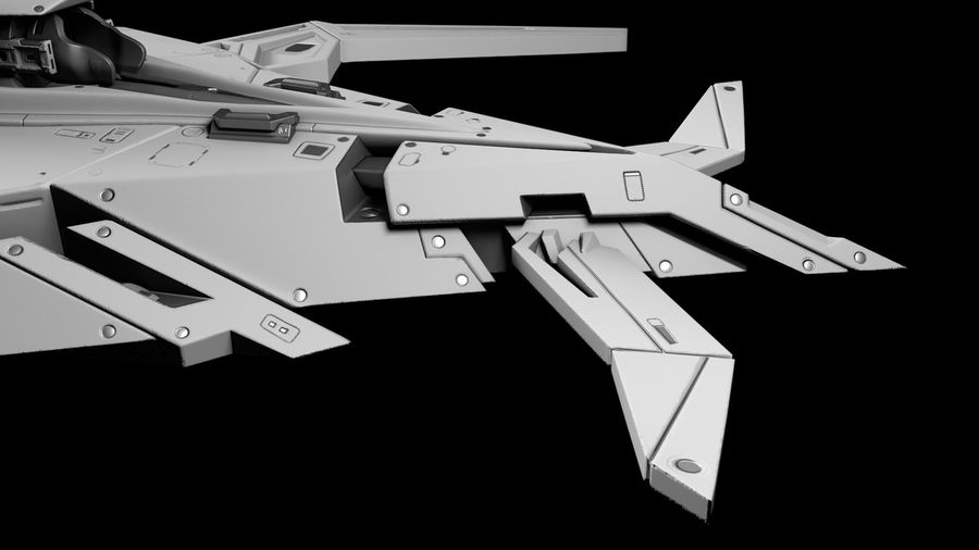Space shuttle royalty-free 3d model - Preview no. 5