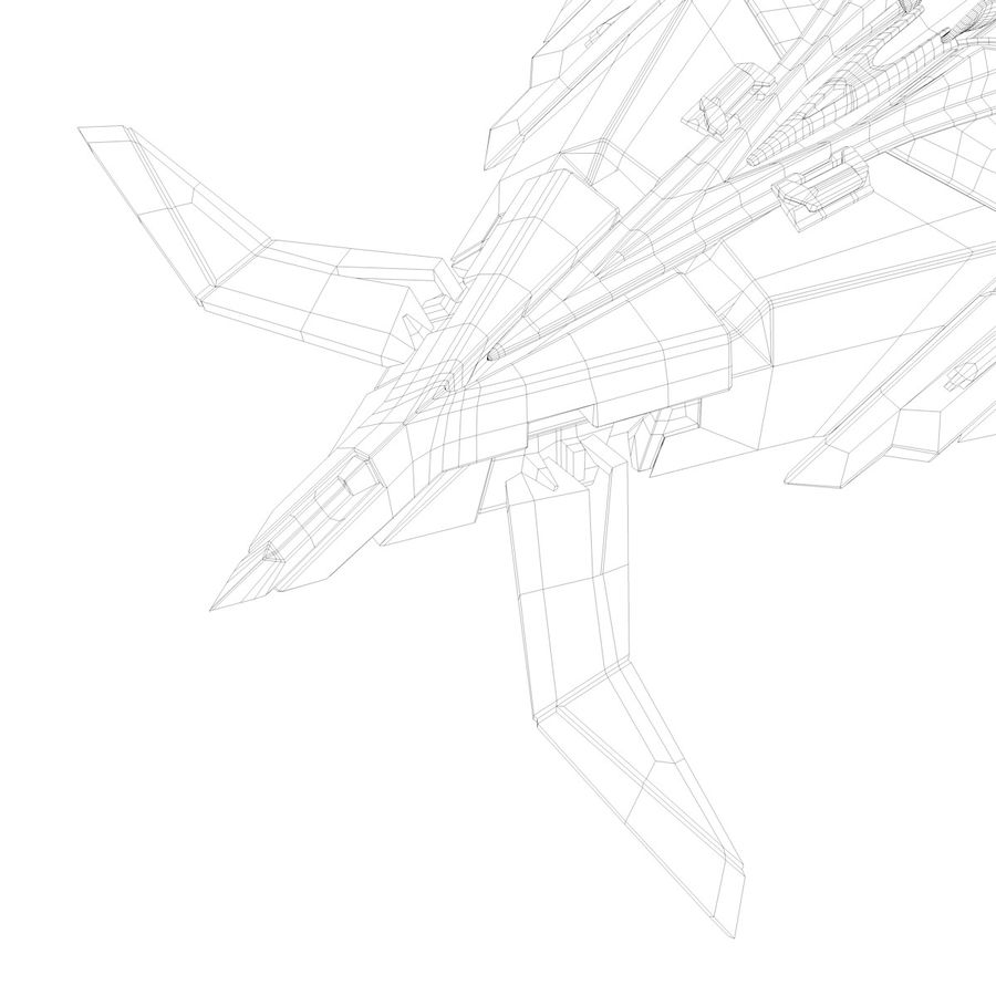 Space shuttle royalty-free 3d model - Preview no. 37