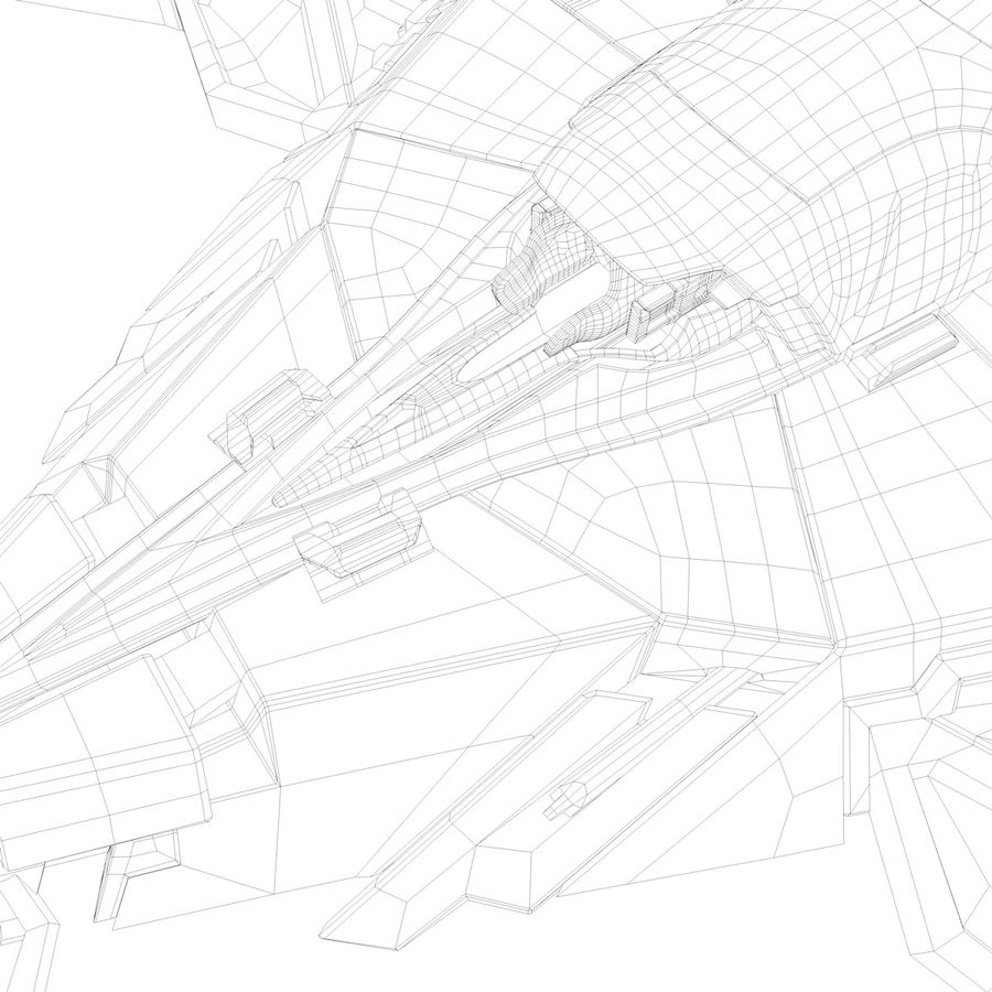 Space shuttle royalty-free 3d model - Preview no. 36