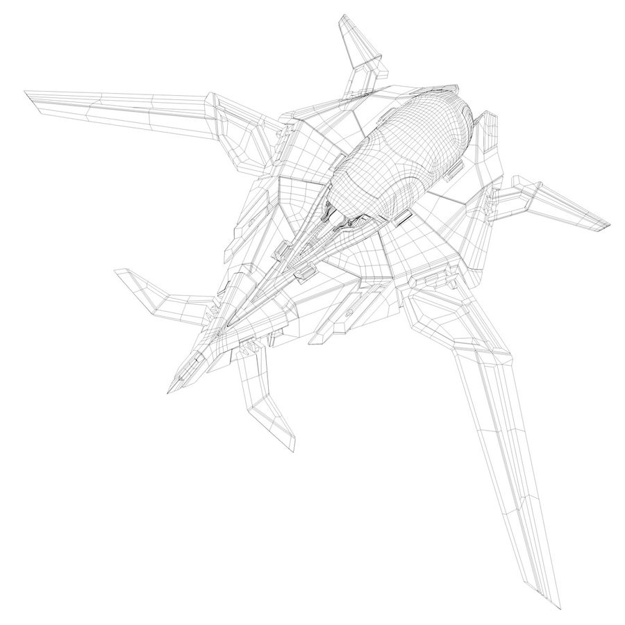 Space shuttle royalty-free 3d model - Preview no. 33