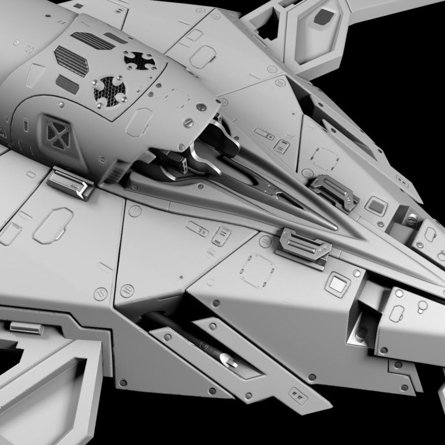 Space shuttle royalty-free 3d model - Preview no. 15