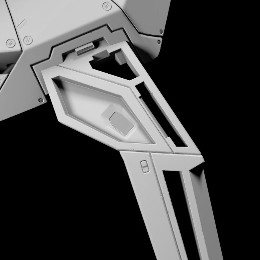 Space shuttle royalty-free 3d model - Preview no. 24