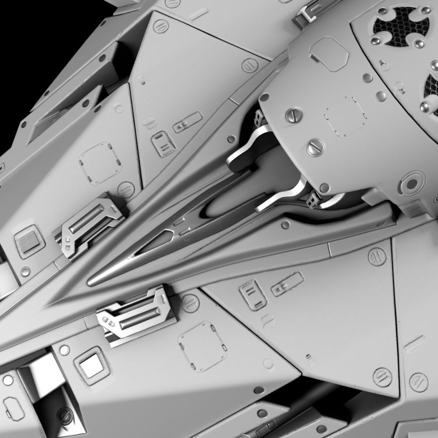 Space shuttle royalty-free 3d model - Preview no. 22