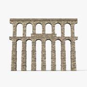 Aqueduct Section Greco Roman 3d model
